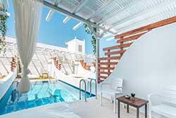 Hotelkamer met privézwembad - Hotel Aloe