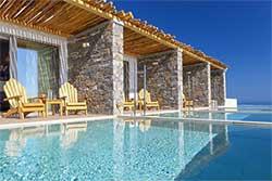 Hotelkamer met privézwembad - Atermono Boutique Hotel - Boetiekhotel Griekenland