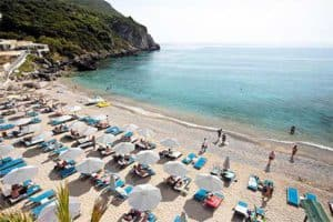 Strand Sensimar Grand Mediterraneo by Atlantica - Adults Only All Inclusive op Corfu