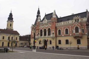 Prachtige gebouwen in Oradea