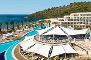 Paloma Pasha Resort in Ozdere - Hotel met swim up kamers