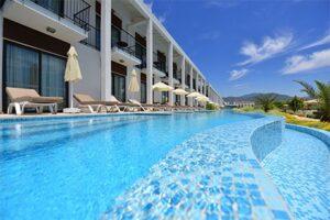 Jiva Beach Resort in Calis - Swim up kamers