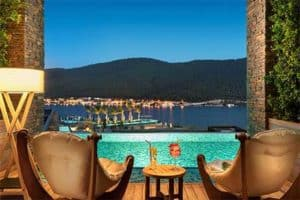 Lujo Bodrum - Swim up kamer