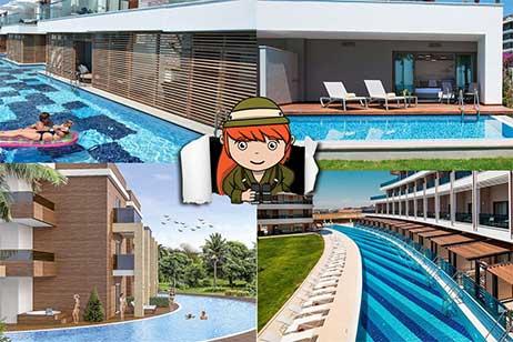 Overzicht vakanties met swim up kamers in Turkije