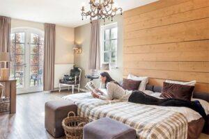 Nachtje weg met kind: Hotelkamer op Vakantiepark Auberge de Hilver / Duc de Brabant