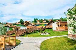 Glamping Slovenië - Camping Bio Terme - Glamping tent