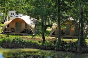 Grand Lodgetent camping Bled