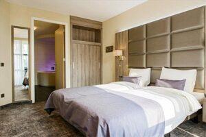 Nachtje weg met kind: Hotelkamer hotel Marveld
