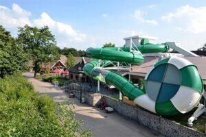 Glijbaan luxe vakantiepark Marveld Groenlo in Nederland
