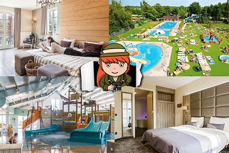 Nachtje weg met kind? Boek een hotel op een vakantiepark!