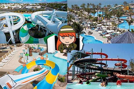 Overzicht hotels met waterpark op de Canarische Eilanden