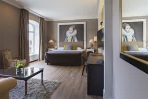 Slapen in een kasteel hotel - Kasteel Bloemendal