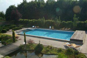 Buitenzwembad Sporthotel Bruurs - Hotel met buitenzwembad