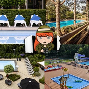 Overzicht: hotels met buitenzwembad Nederland