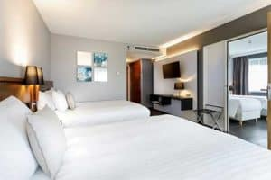 Familiekamer 6 personen - Courtyard by Marriott Amsterdam Airport