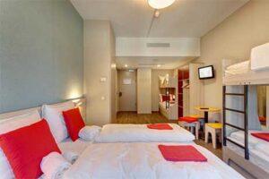Familiekamer 6 personen - Meininger Hotel Amsterdam city West