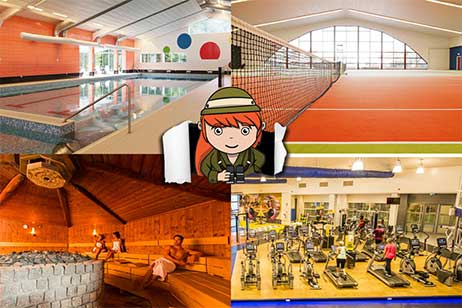 Sporthotels in Nederland