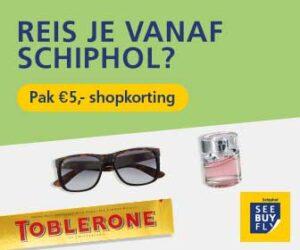 Korting Schiphol Shoppen