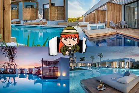 Overzicht hotels met swim up kamer Griekenland