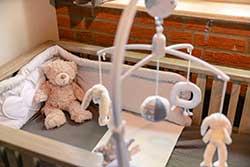 Babybungalow thema - Vakantiepark Molke - Babykamer