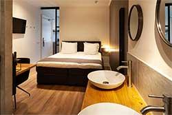 Boutique Hotel Julien in Den Bosch - Hotelkamer