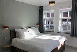 Boutique Hotel Nieuw Uilenburg in Den Bosch - Hotelkamer