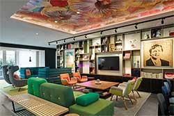 Lobby Hotel citizenM Amstel Amsterdam - Nieuw Hotel in Nederland