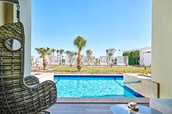 Nieuw hotel in Egypte - Steigenberger Pure LIiestyle Resort - Swim Up Kamer