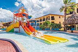 All Inclusive Curacao - Kunuku Aqua Resort - Glijbaan