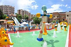 Club Paradiso in Alanya - Splashpool en Aquapark
