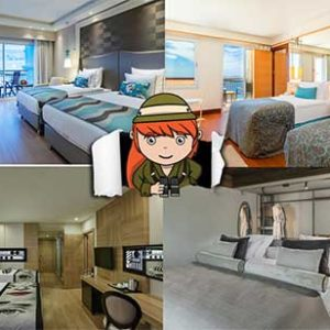 Familiekamers 6 personen of meer in All Inclusive hotel