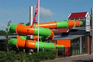 Glijbaan Camping 't Veld - Camping met binnenzwembad in Nederland