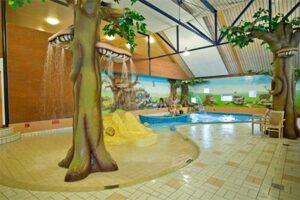Kinderbad in overdekt zwembad Camping de Kleine Wolf