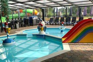 Kinderzwembad bij Camping 't Veld - Camping met binnenzwembad