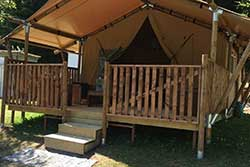 Glamping Ardennen - Camping Le Prahay - Safaritent