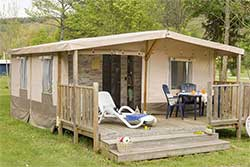 Glamping Ardennen - Camping Parc La Clusure - Lodgetent