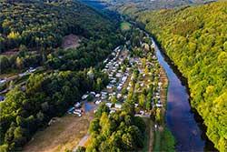 Glamping Ardennen - Camping Le Prahay - Aan de Semois