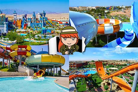 7x Hotels met groot aquapark in Egypte