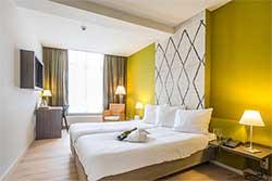 Boutique hotel Maastricht - Hotel Au Quartier - Hotelkamer