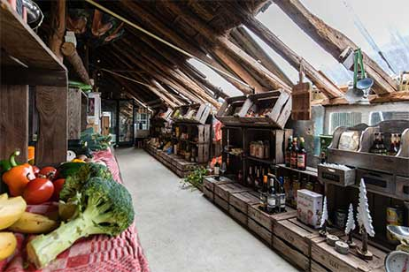Boerderijvakantie bij de Kalverweide - Boerderijwinkel