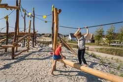 Familieweekend aan zee - Landal Strand Resort Ouddorp Duin - Speeltuin