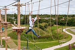 Familieweekend bij Vakantiepark De Krim - Klimpark Texel