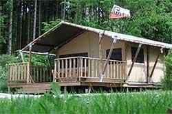 Glampings Duitsland - Safaritent op Camping Wilsumer Berge