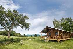 Glamping Duitsland - Safaritent Landal Camping Warsberg