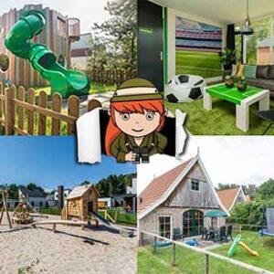 5x de gaafste kinderbungalows in Nederland