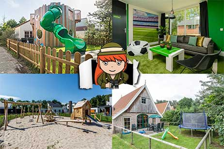 5x de gaafste kinderbungalows in Nederland
