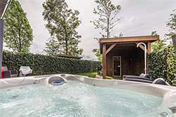 Wellness huisje bij Dormio Resort Maastricht