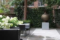 Boutique Hotel Straelman in Nijmegen - tuin