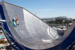 Galaxy Rutschenwelt van Therme Erding - Waterpark Duitsland