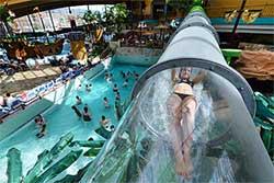 Glijbaan binnen Waterpark Aquamagis Plettenberg - Waterpark Duitsland